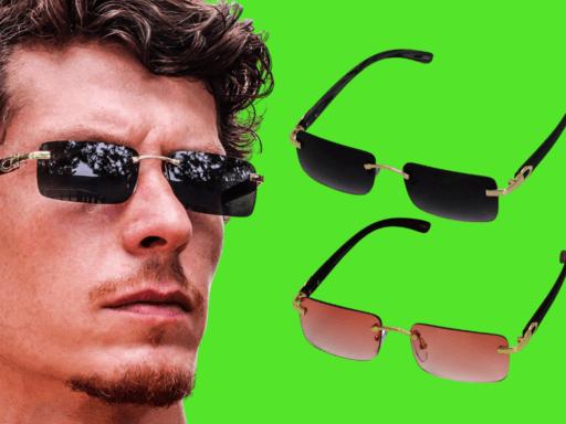 mens fashionable sunglasses