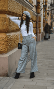 Palazzo Pants Outfit For Work